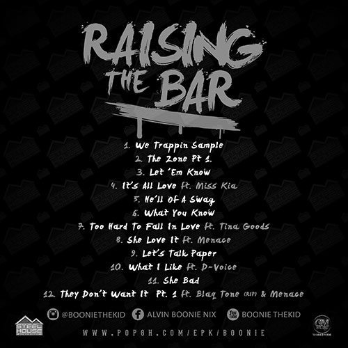 Boonie The Kid - Raising The Bar (Mixtape)