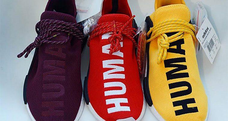 Pharrell X Adidas NMD Human Race Releases Samples