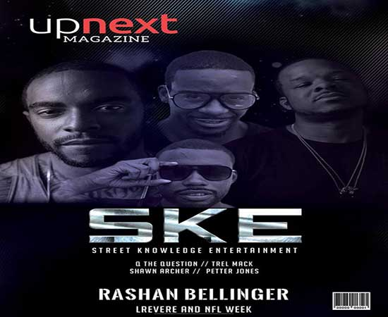 Philly Label SKE Records Graces Cover of Up Next Magazine