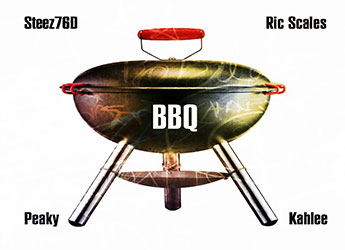 Steez76D x Kahlee x Ric Scales x Peaky - BBQ