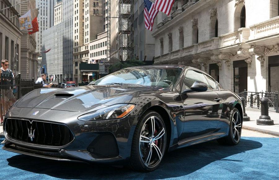 2018 Maserati GranTurismo MC Debuts at the New York Stock Exchange