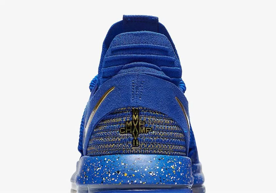 Kevin Durant Talks His Talk with Nike KDX 'Celebration'