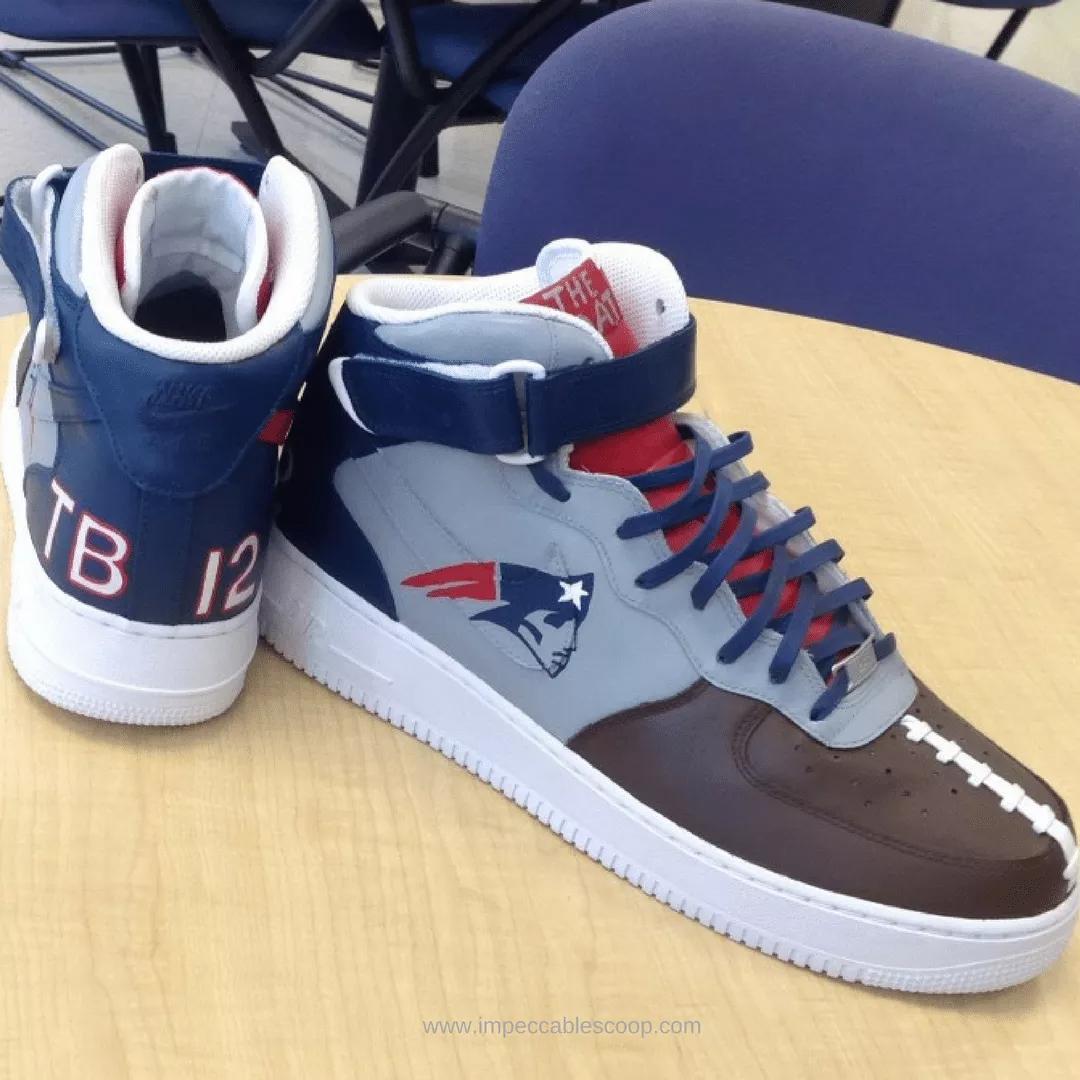 Tom Brady Inspires 'The G.O.A.T' Air Force 1 Custom