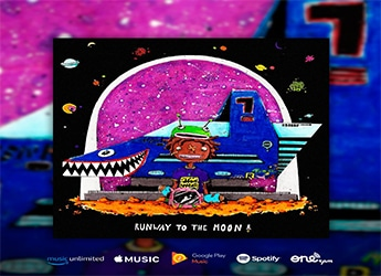 Tommy Swisher - RunWay To The Moon (LP)