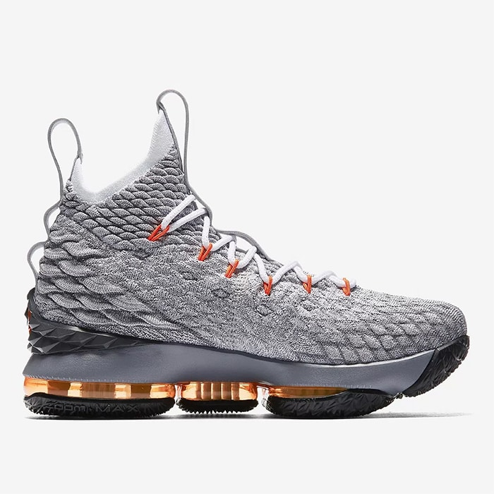 Nike LeBron 15 'Safety Orange' Releasing Exclusively for Kids
