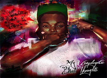Young Deuces - My Unapologetic Black Thoughts (LP)