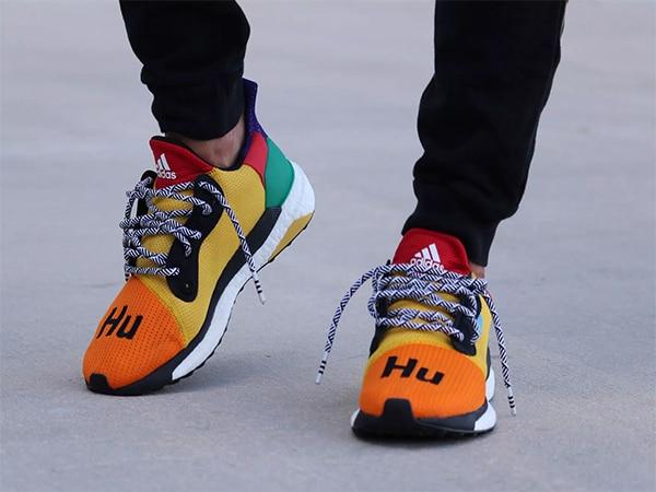 Pharrell x adidas Solar Hu Glide ST Preview