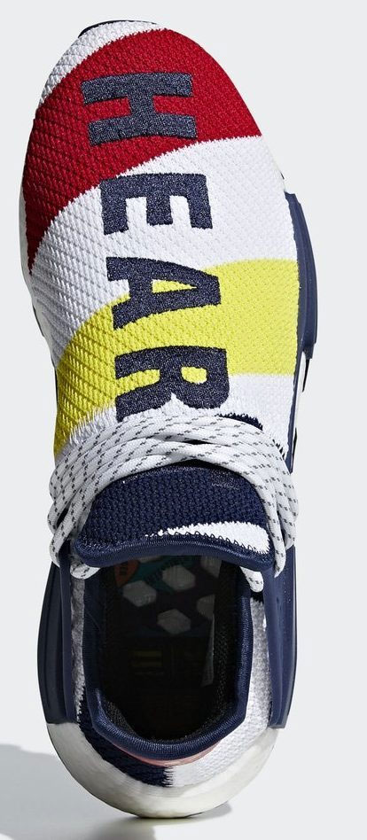 A Closer Look at the BBC x Pharrell x adidas NMD Hu