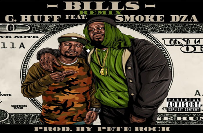 G.Huff ft. Smoke DZA - Bills (prod. by Pete Rock)