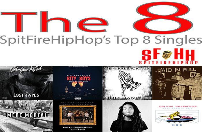 Top 8 Singles: September 2 - September 8 ft. Ghostface Killah, K.Burns & Fetty & GeneralBackPain