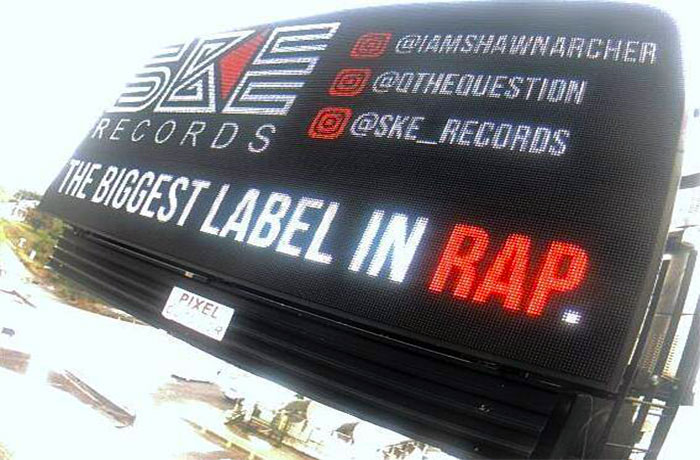 SKE Records Is Taking Over, Has Billboards Nationwide