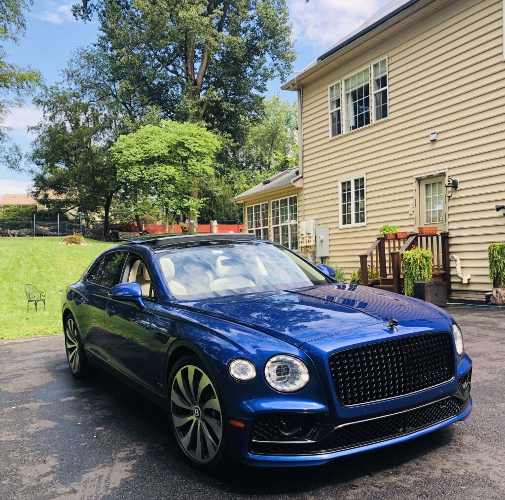 2020 Bentley Flying Spur First Edition in Moroccan Blue The Unimaginable